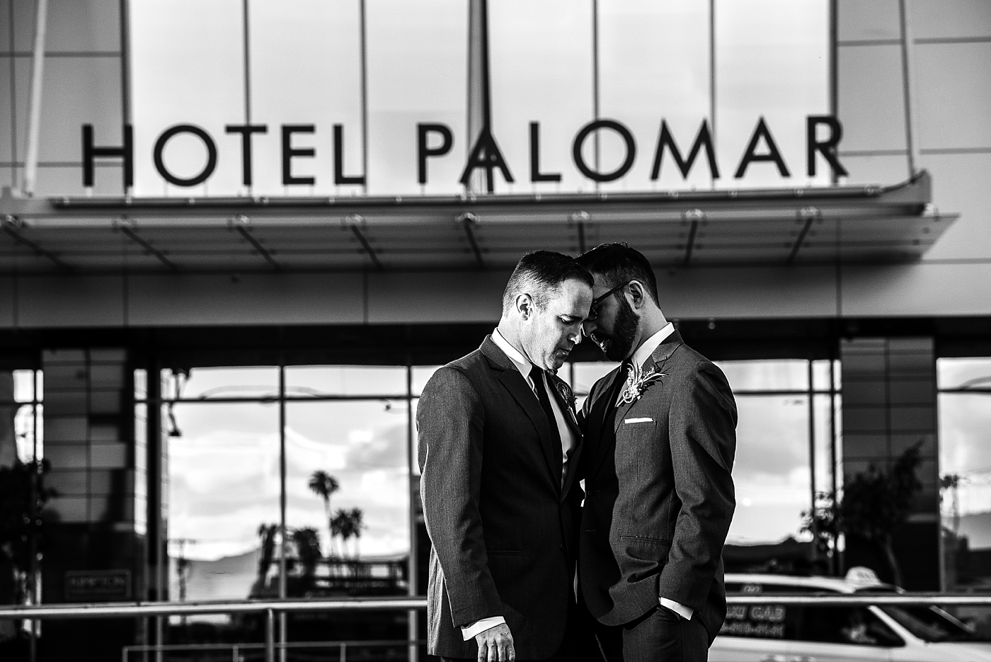 Two Grooms at Hotel Palomar