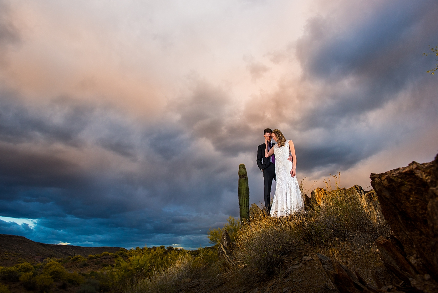 Fountain Hills Wedding Photos Arizona