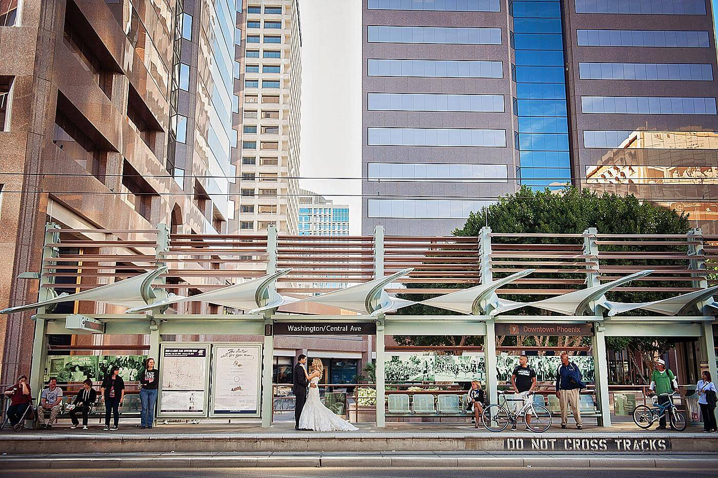 Urban Phoenix Wedding