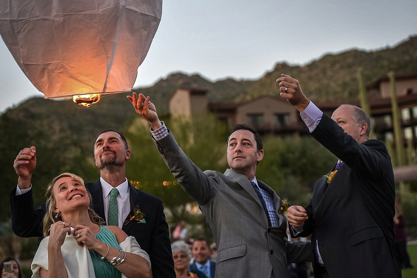 Ritz Carlton Tucson Wedding