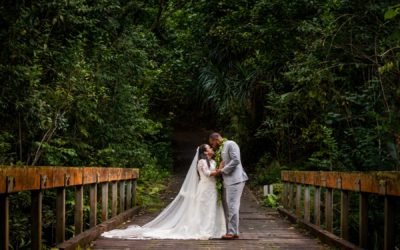 Sheree & TaiShawn's Intimate Oahu Wedding