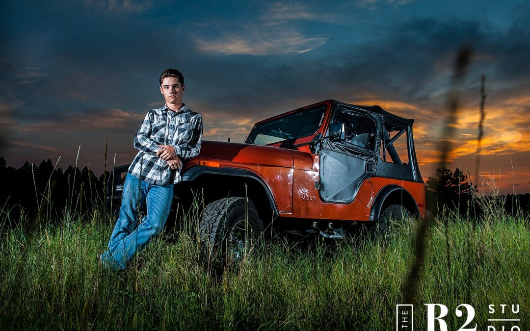 Jake's Senior Photos by The R2 Studio