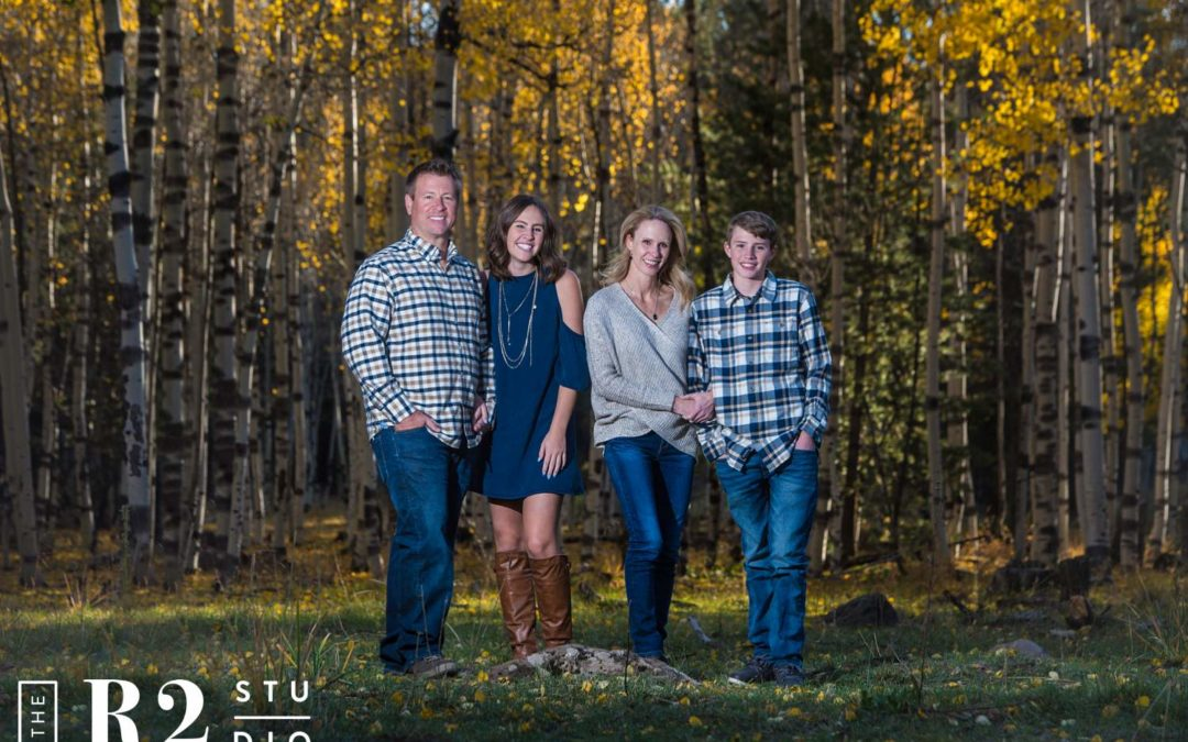 Hindman Family Fall Photos | Flagstaff AZ | The R2 Studio