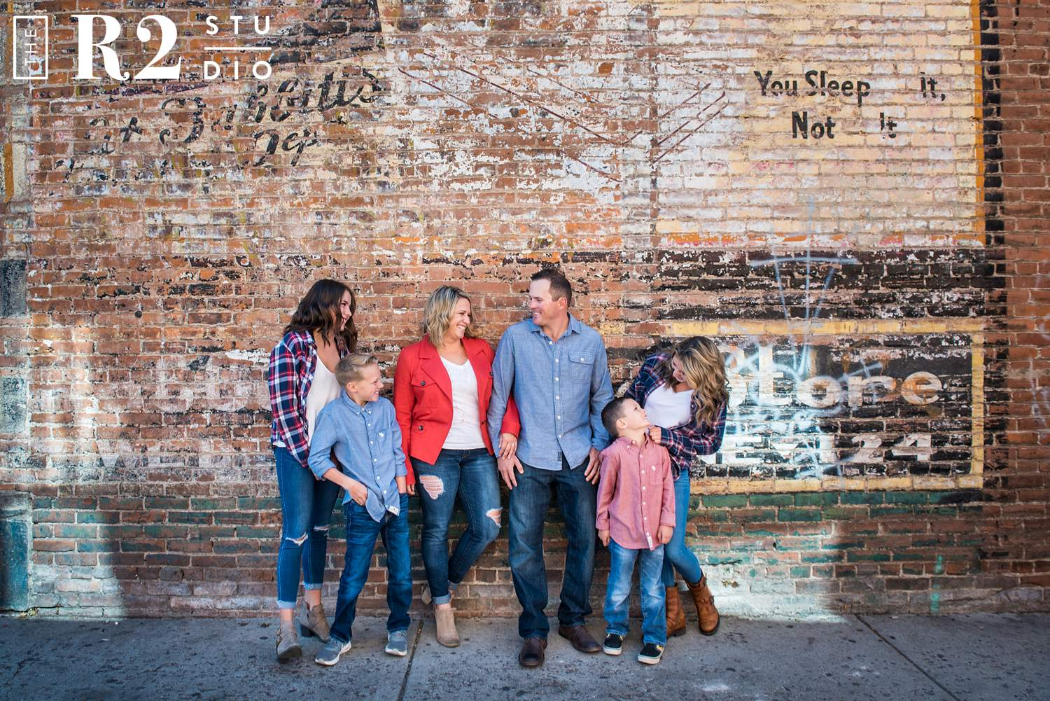 downtown flagstaff family photos