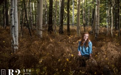 Bella's Senior Photo Experience | Flagstaff AZ