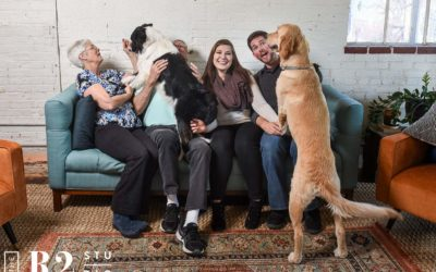 Emma, Dexter & their Humans – Pet Photo Session