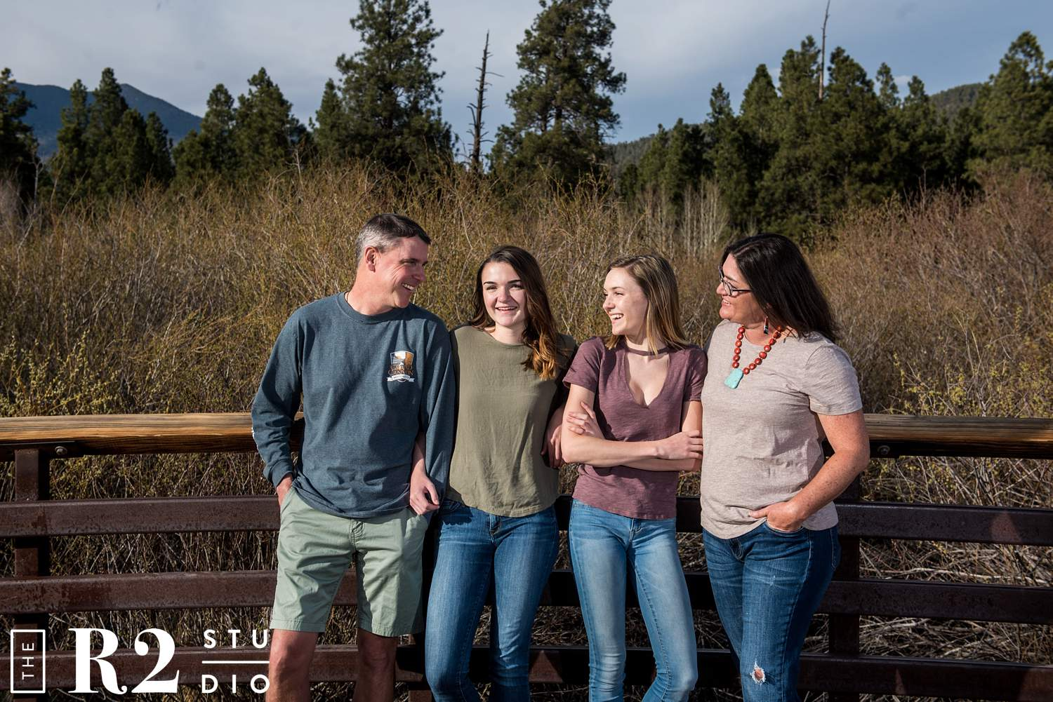 flagstaff family photo session