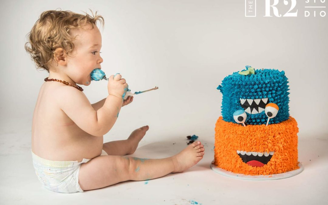 Cake Smash Photography – Carter's 1st Birthday