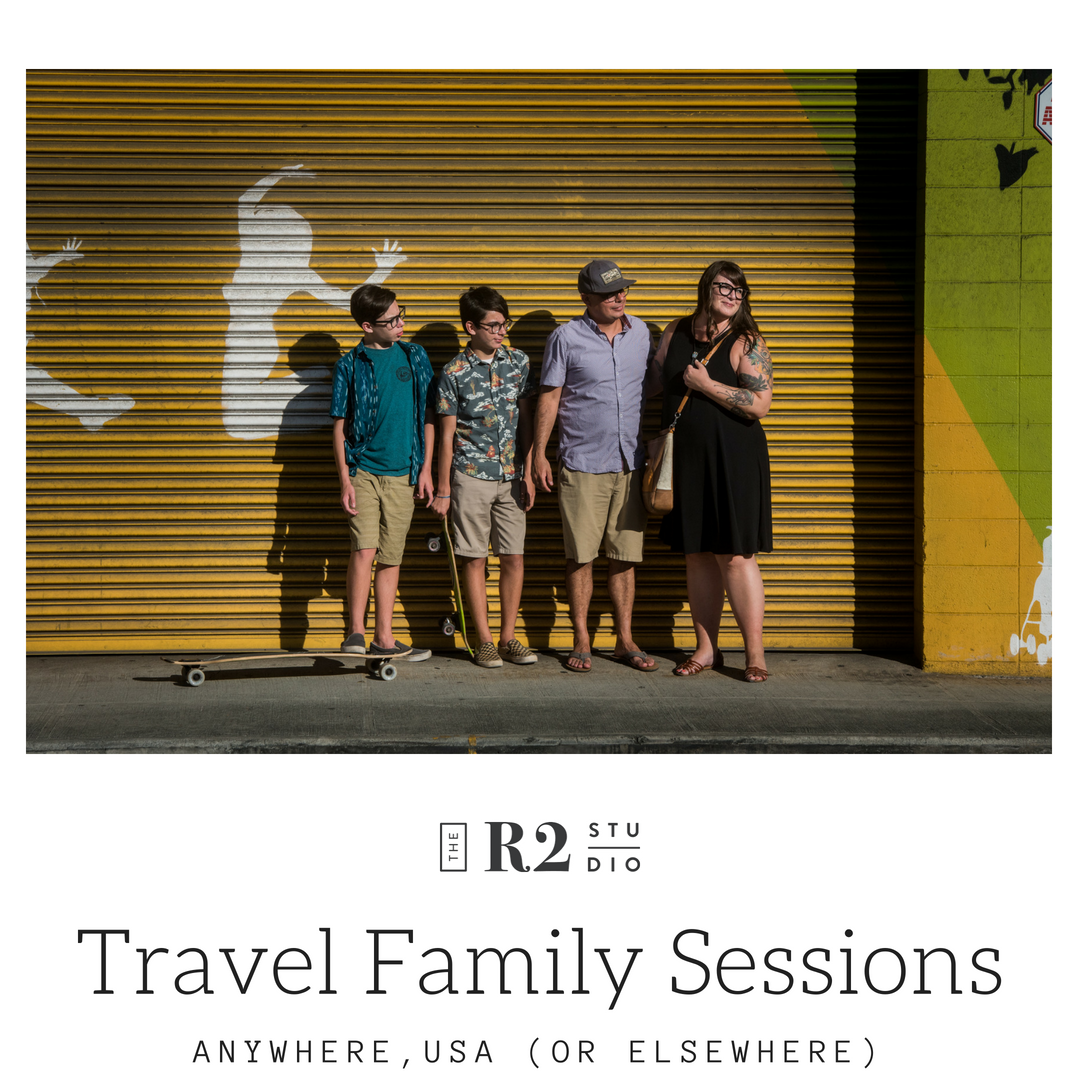 travel family sessions