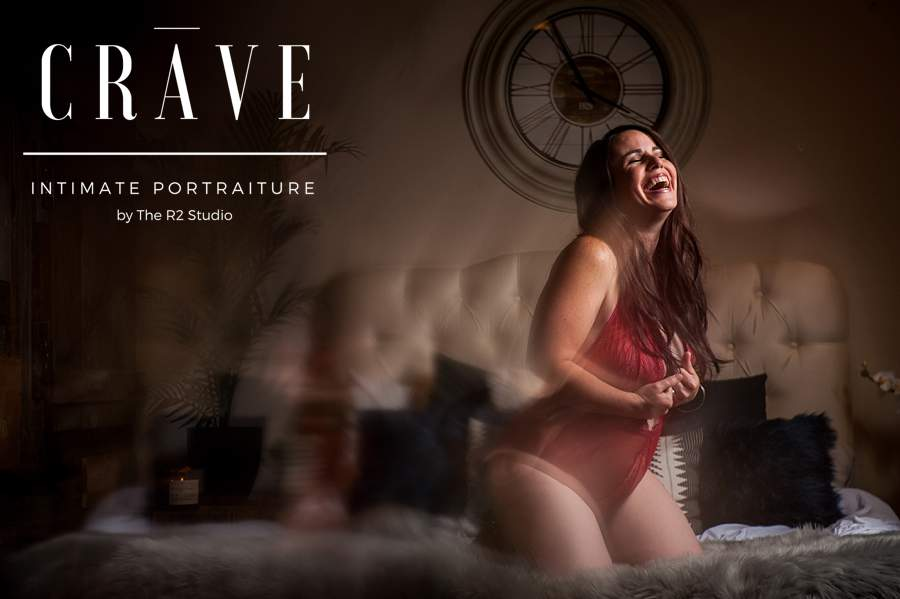 CRAVE boudoir session in flagstaff