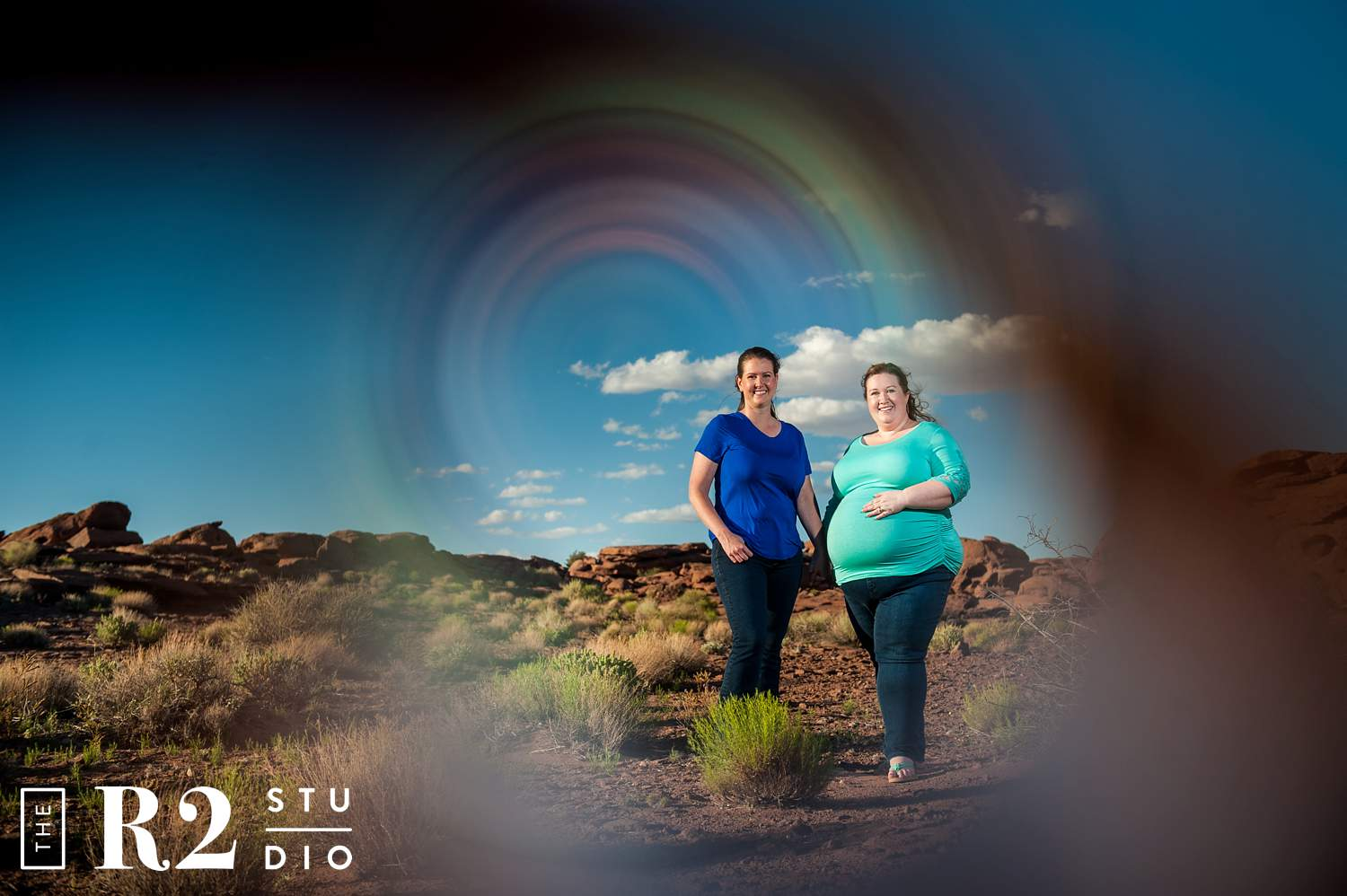 desert maternity session flagstaff arizona