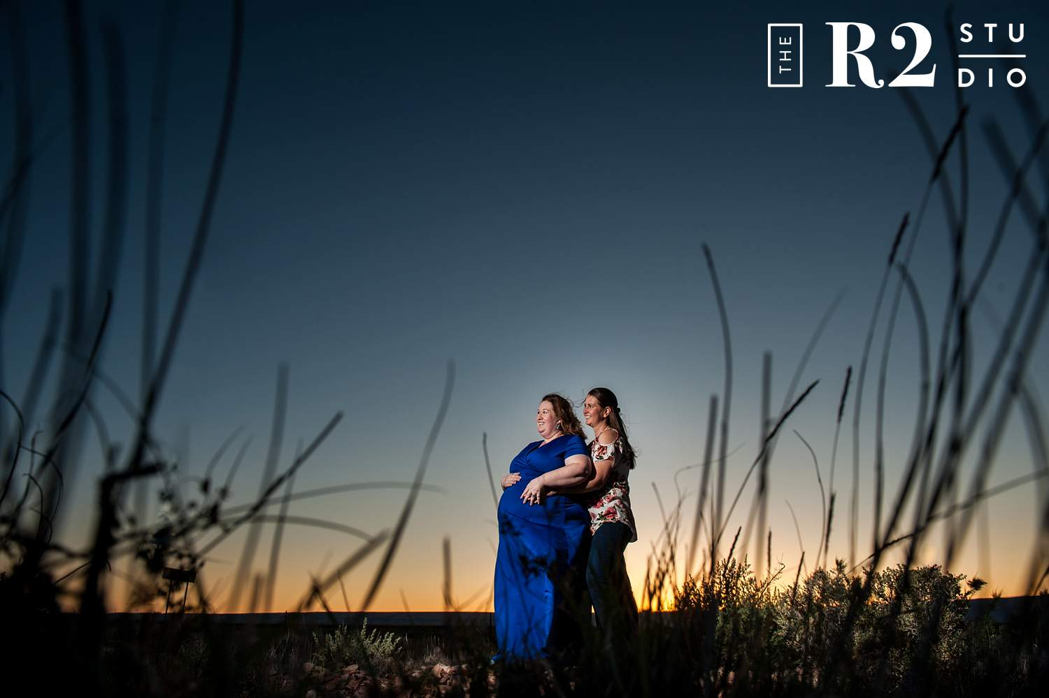 same sex maternity session flagstaff